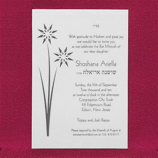 bat mitzvah invitations invitations 1 2 3